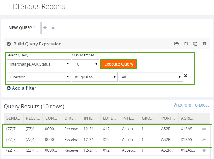 execute edi reports in biztalk360