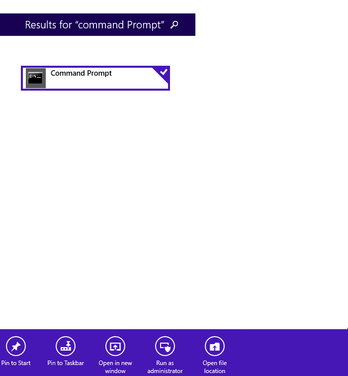 command prompt application