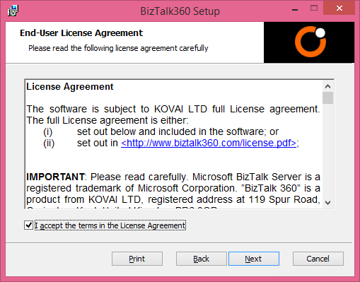 biztalk360 end user license agreement
