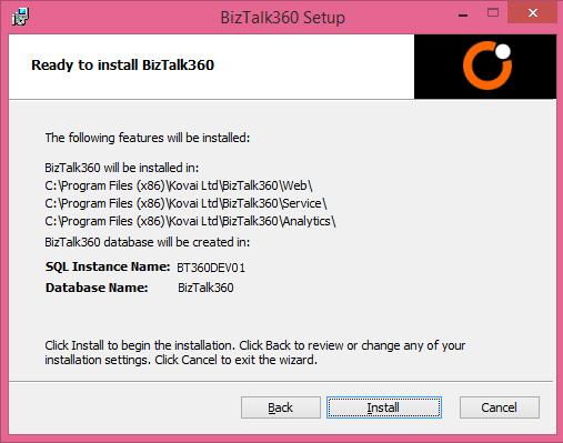 biztalk360 installation steps