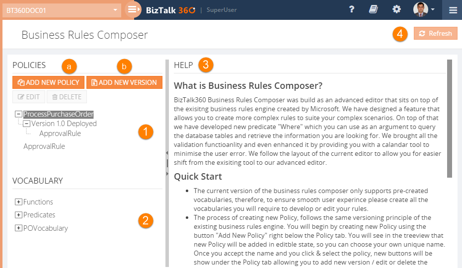 what is business rules composer
