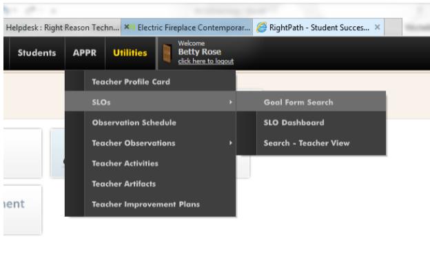 2014 SLO User Guide for Teachers : Right Reason Technologies