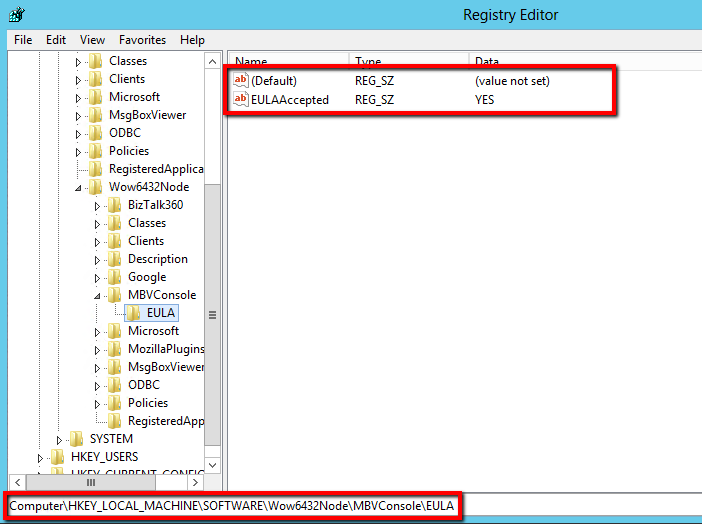 configuring message box viewer details