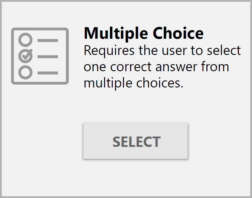 Add a Multiple Choice Question : CourseGenius