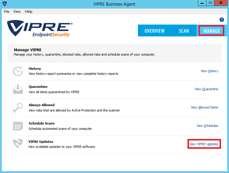 Vipre virus definitions not updating - Antivirus - Spiceworks