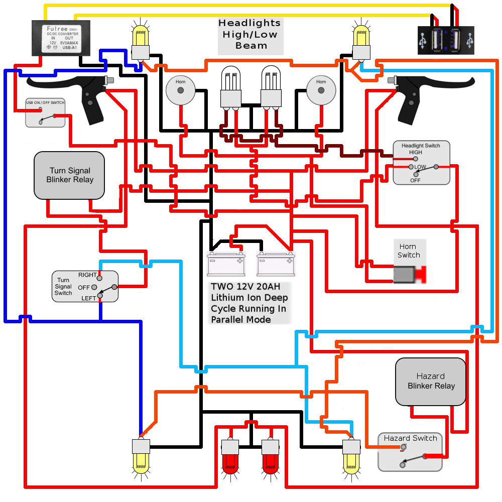 "Here is an updated version of my diagram hopefully taking care of all the  issues except for the ""Fuse / Circuit Breaker"" you mentioned."