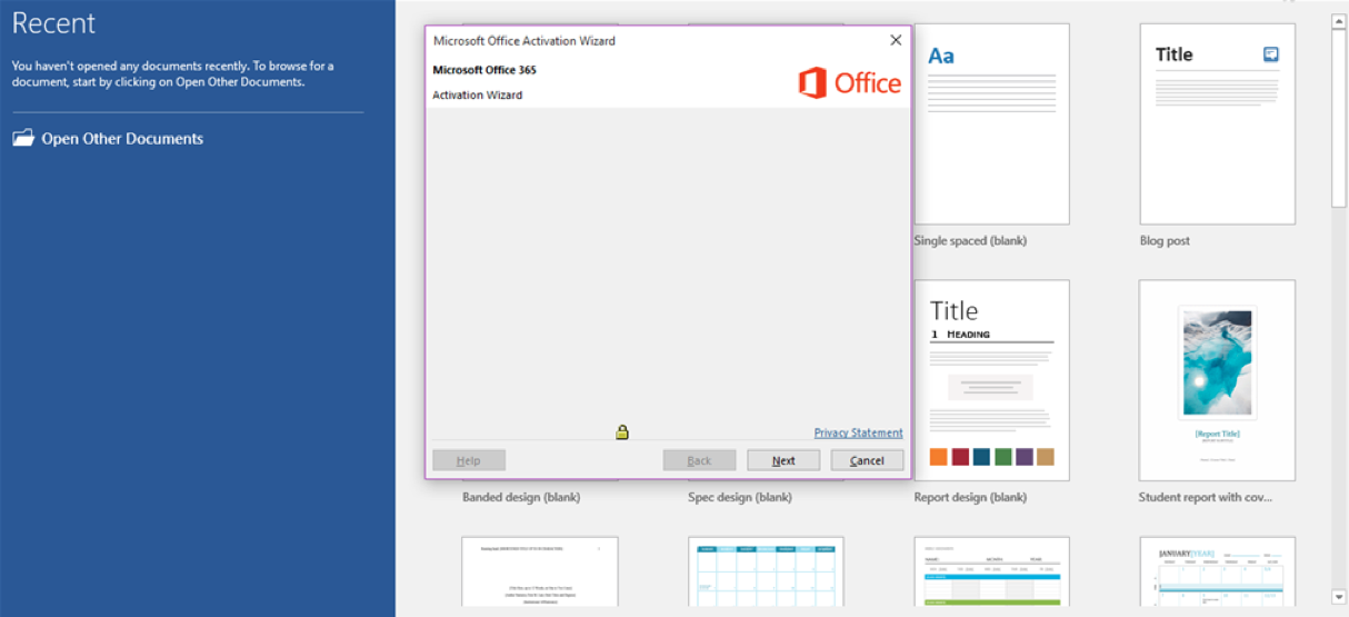 Office 365 Activation Wizard Blank : Oxygen IT Solutions