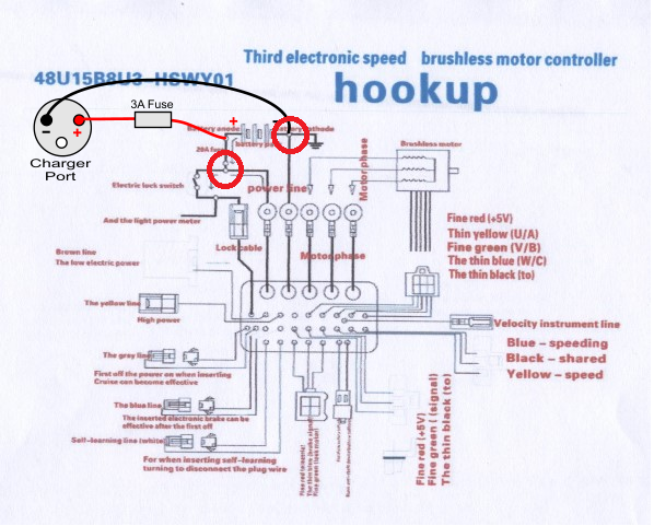 Zooma Electric Scooter Wiring Diagram : Zooma scooter wiring diagram start