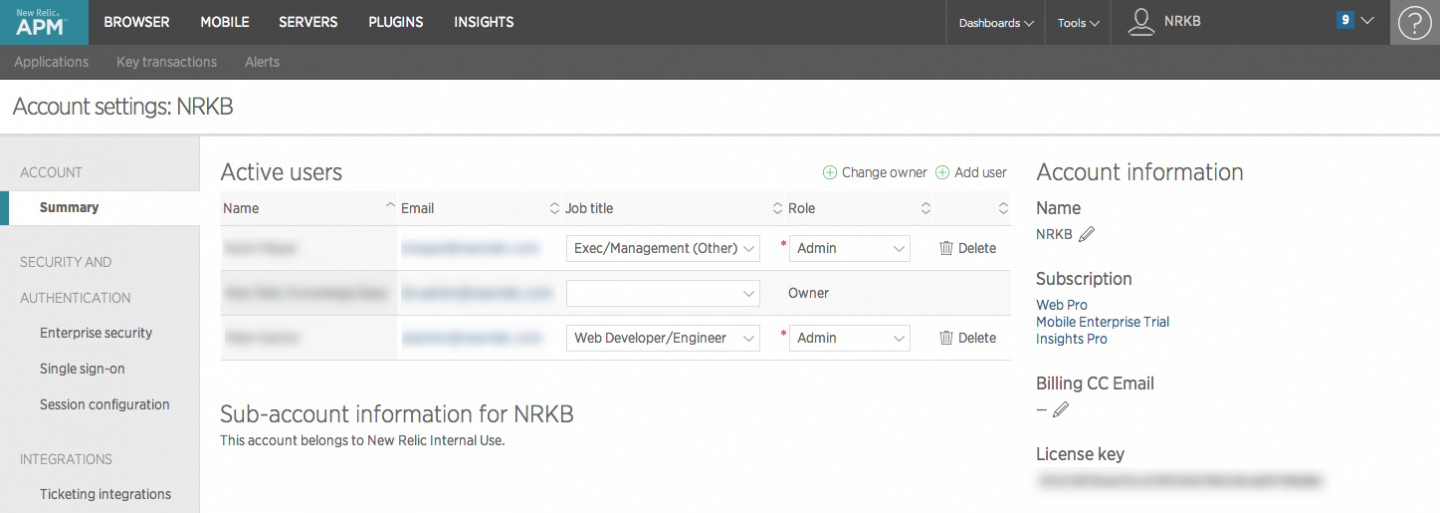 biztalk360 analytics in new relic