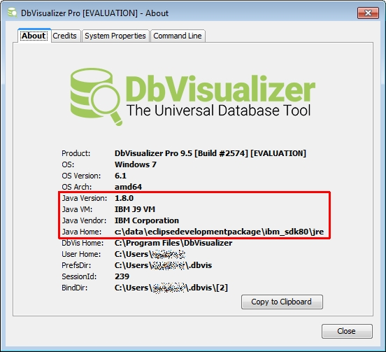Help please! Errors with both DB2 for LUW and DB2 for z/OS : DbVis