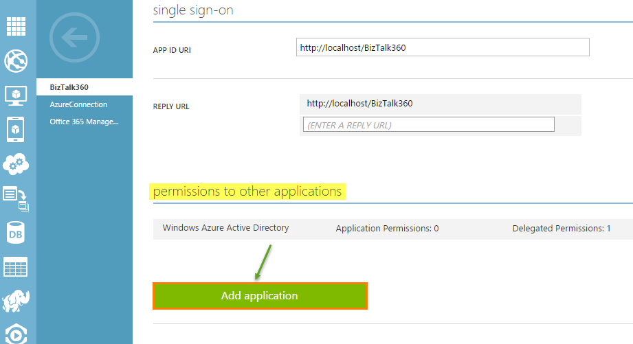 single sign on access for applications in azure active directory