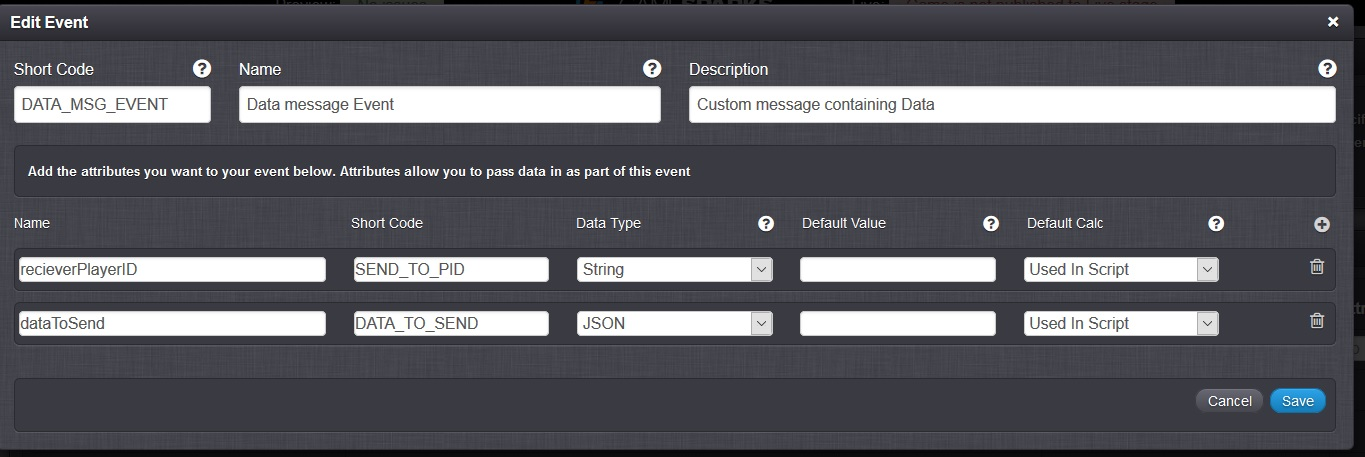 Reading contents of message sent by cloudcode (Unity C