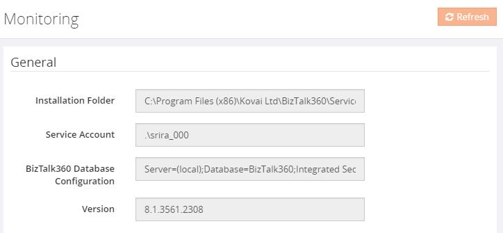 biztalk360 troubleshooter monitoring configurations