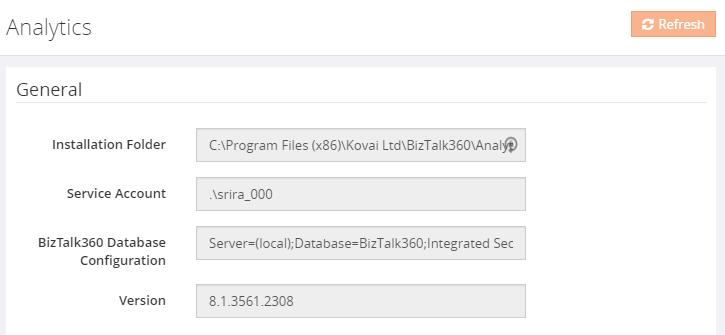 biztalk360 troubleshooter analytics configurations