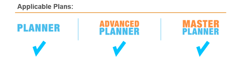 Logging In Planbook Plus