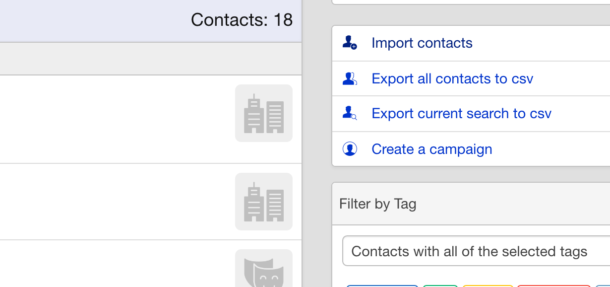 Import Contacts : Overture Support