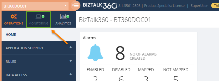 how to add an azure service bus queue to biztalk360