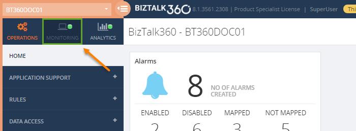 how to add an azure service bus queue to biztalk360