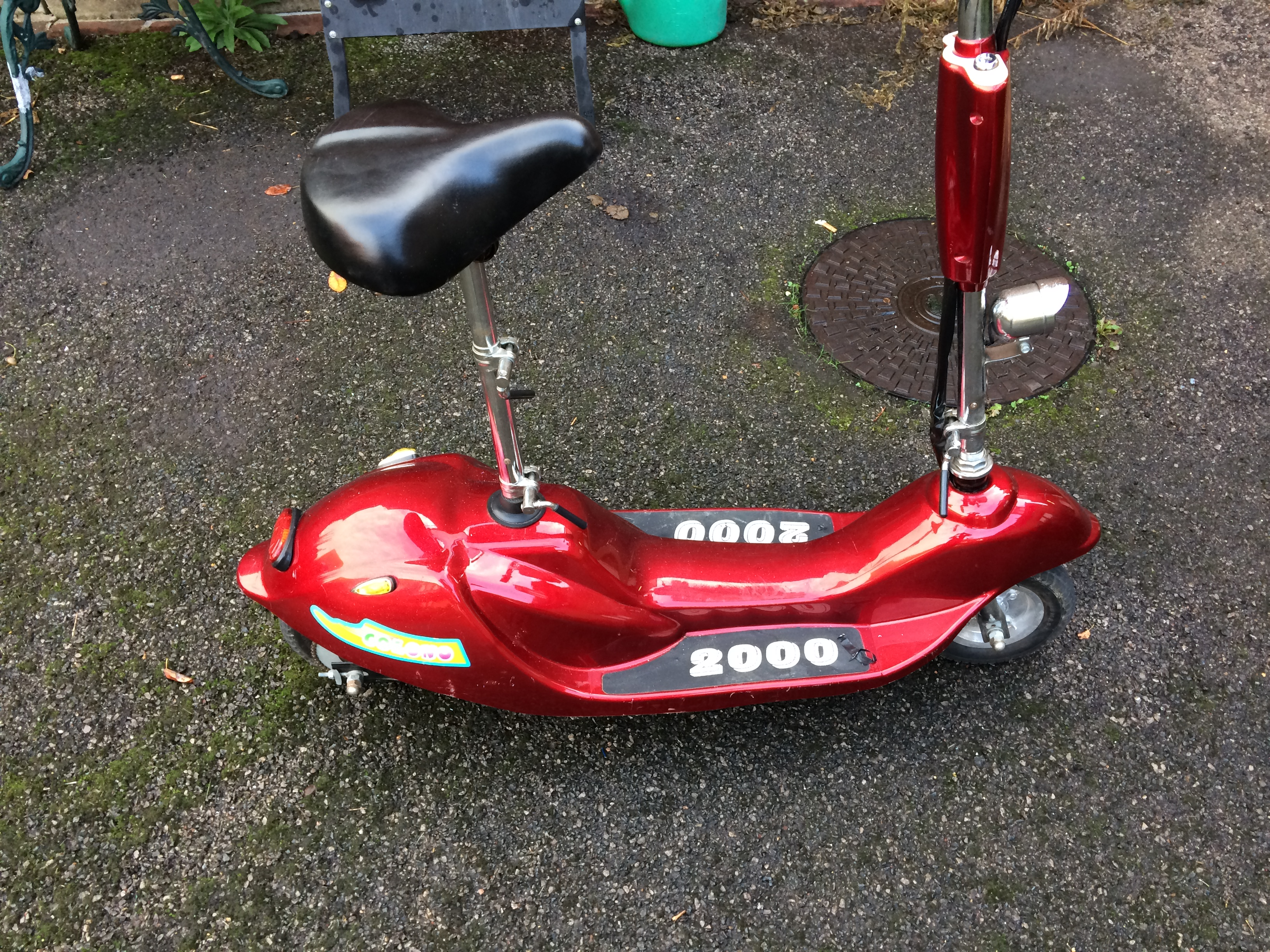 Need help identifying electric scooter. : ElectricScooterParts.com ...