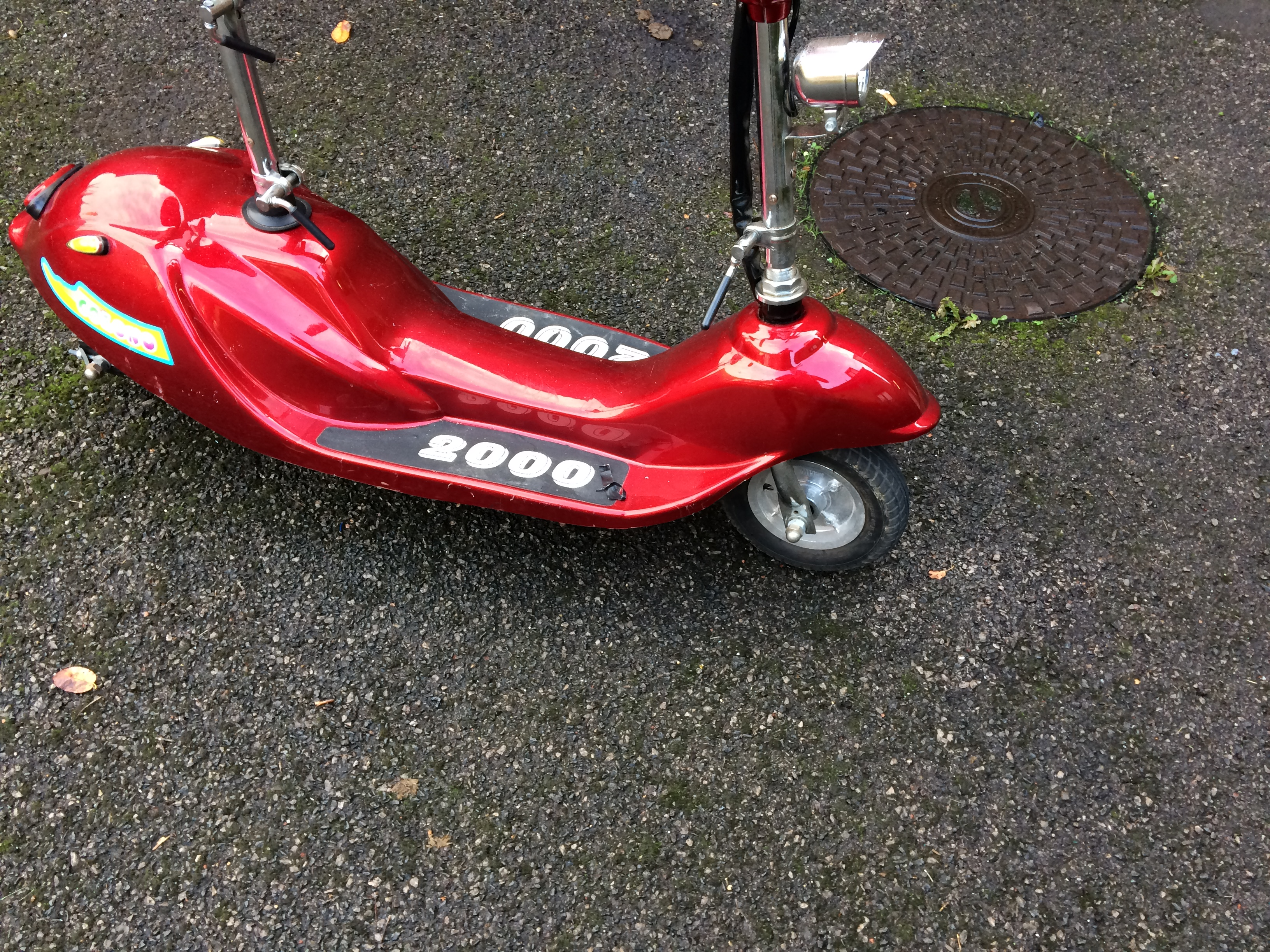 Need Help Identifying Electric Scooter