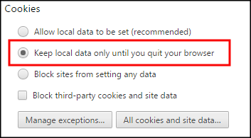 how to delete cookies on google chromebook
