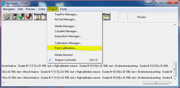 Epson vDot5 color verification and calibration : Xitron Support