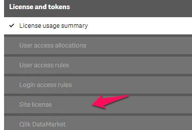 Applying Qlik Sense Licence Changes : Informance Support