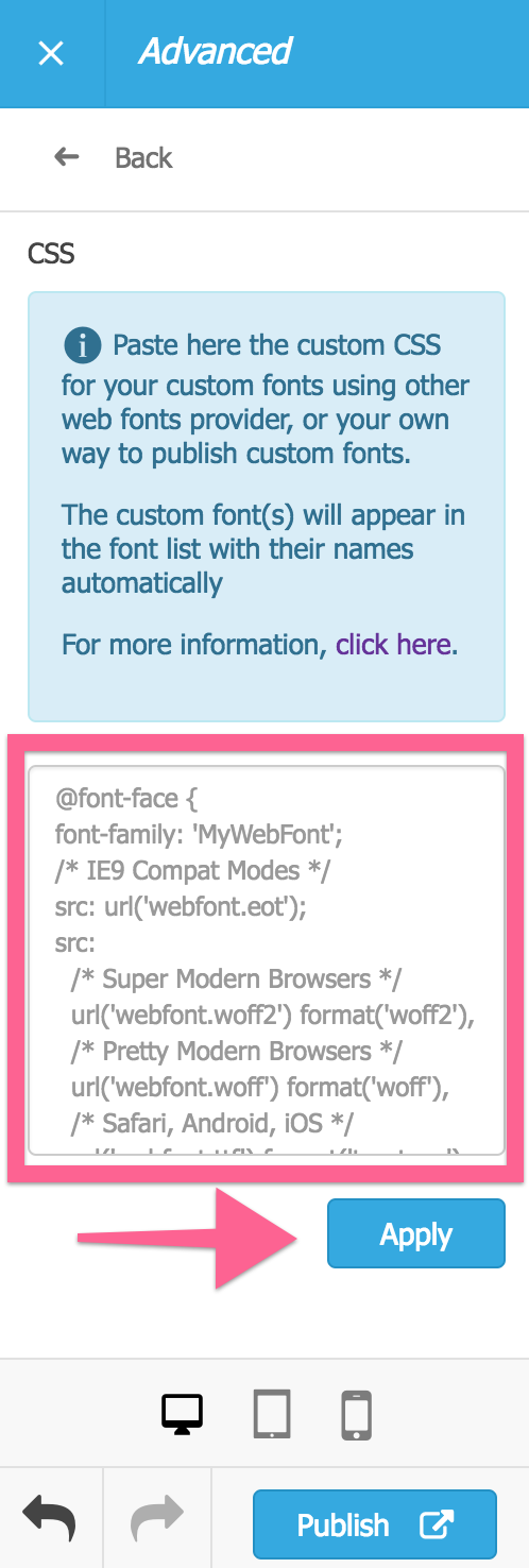 Adding custom fonts to SharePoint sites manually : Support