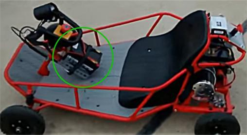 Buggy Steering Wheel