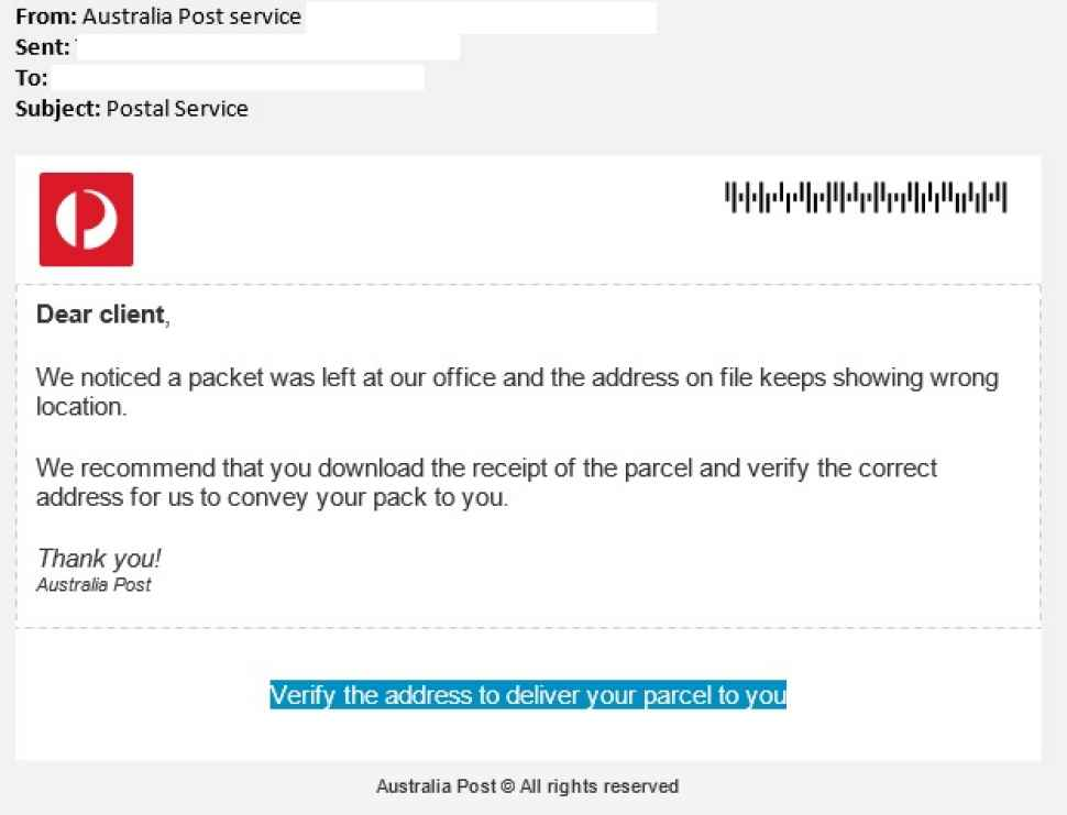Auspost How To Write A Letter