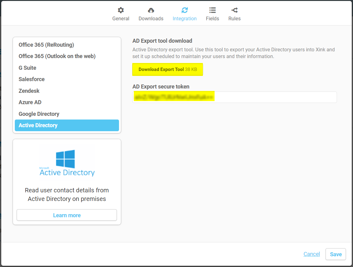 Email Signature - Exporting users from Active Directory : EmaiI