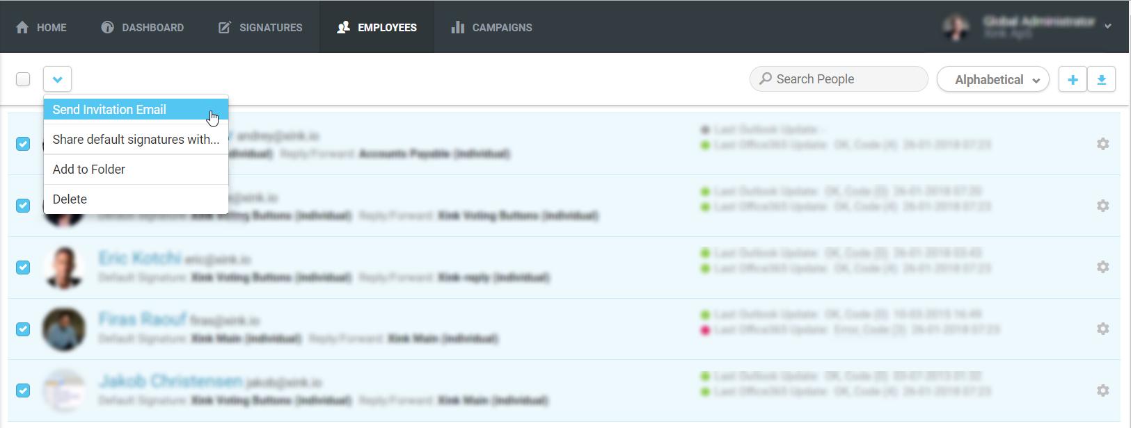 Email Signature Platform - Manual user install for Mac