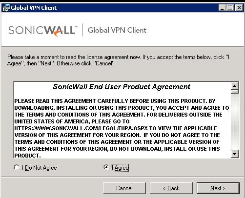 Instalar e Configurar o Sonicwall Global VPN Client : Callister