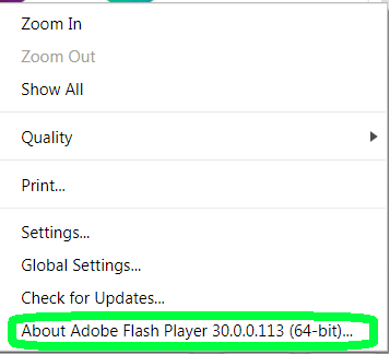 Adobe Flash Issue for Web Based Courses: Problem with audio or