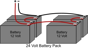 Battery Wiring - 24V to 48V : ElectricScooterParts.com Support on 24 volt circuit in series, wiring rechargeable batteries in series, wire 4 batteries series, wiring 2 12v batteries parallel, dc batteries in series, wiring 24v to ac dc, charging batteries in series, best way to wire outlets in series, wiring two batteries in series, receptacles in series, wiring a light home, installing batteries in series, connecting batteries in series, wiring switches in parallel, 12 volt in series,
