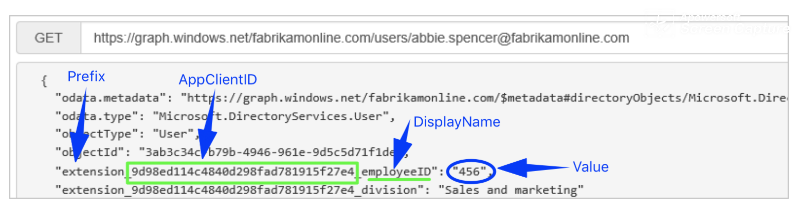 How to Sync Custom Attribute of Azure AD to Xink Portal