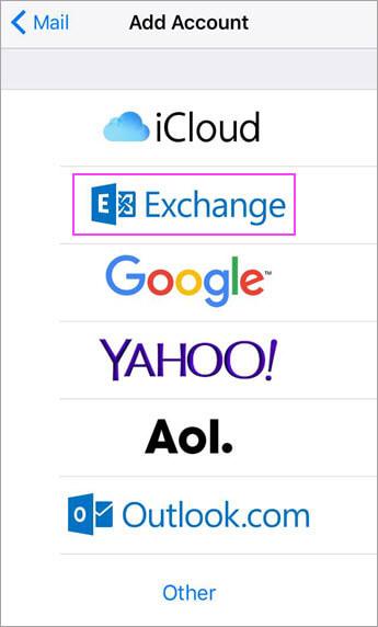 Choose Exchange