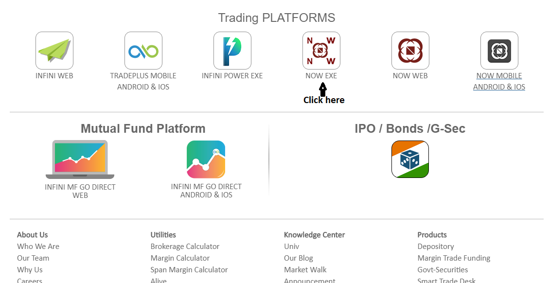 NOW| NEST| Trading Software|Online Trading : Customer
