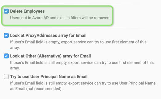 Email signature data from Azure AD - Filter using OData