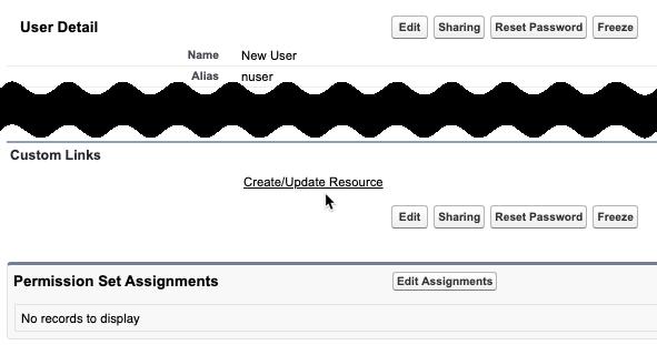 User - Create/Update Resource