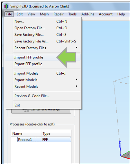 How to Manually Configure Simplify 3D for Optimum Quality
