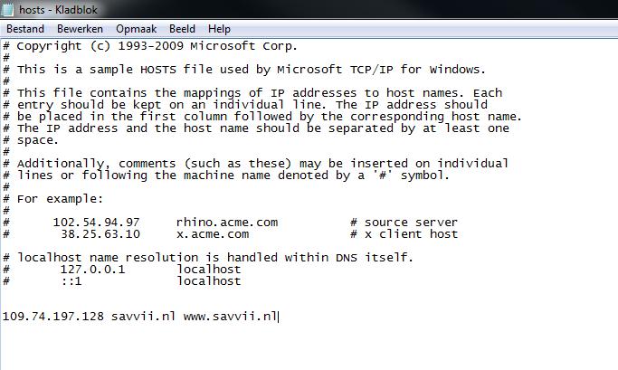 How Do I Edit My Hosts File Windows Savvii