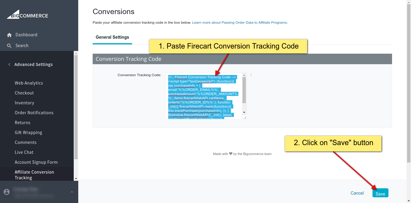 6b Paste-Firecart-ConversionTracking-Code.png
