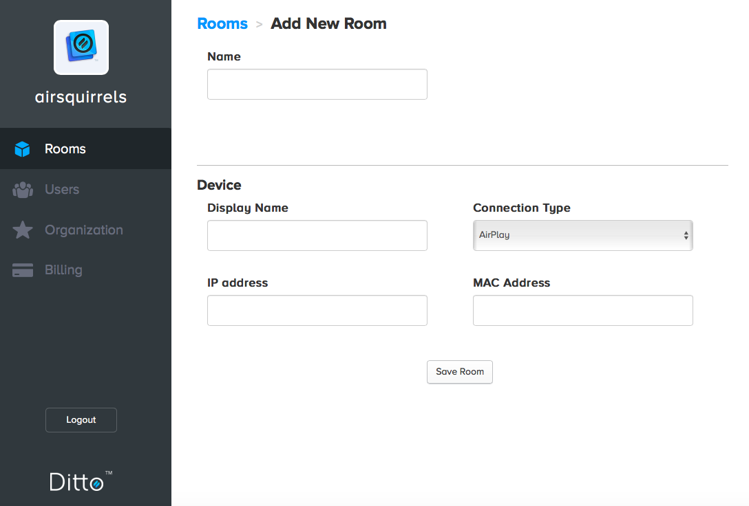 how to create a data room