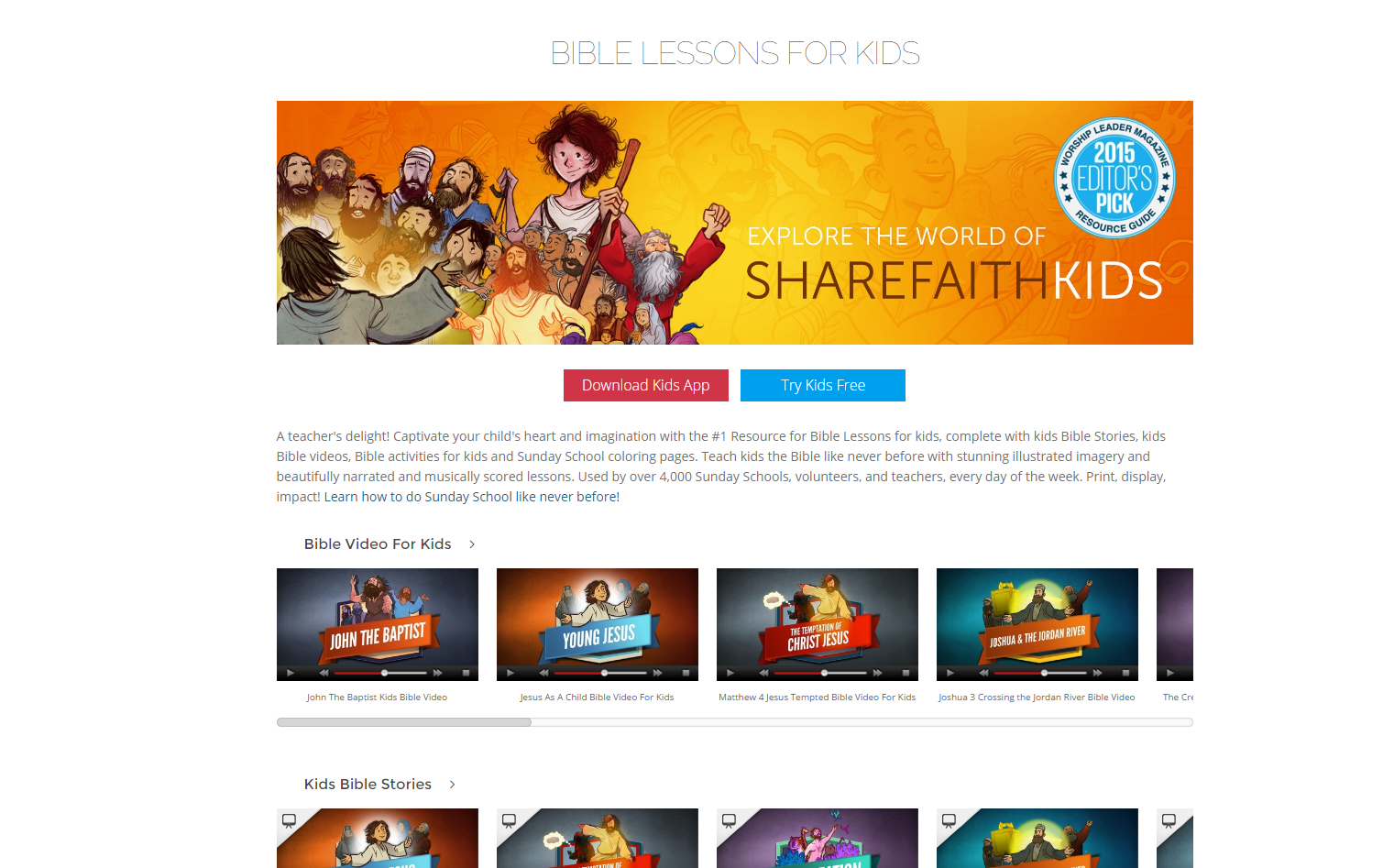 Editors pick popular on web pictures - Now It Will Take You To The Sharefaith Kids Section Where You Can Choose From Various Items From Video To Powerpoints To Activities Etc