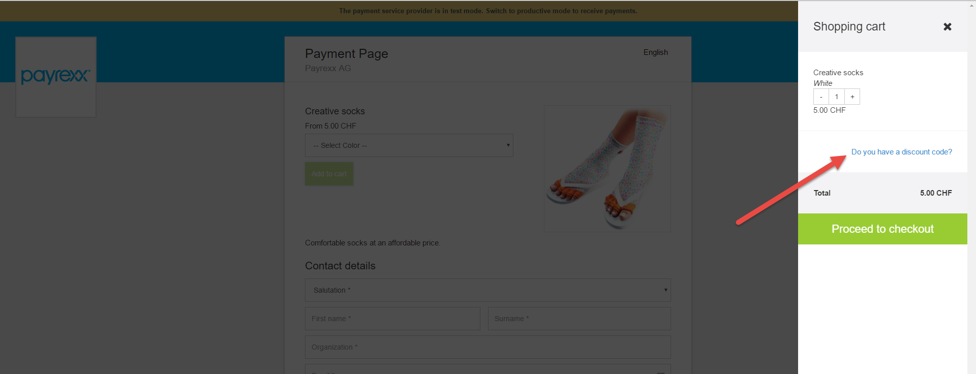 How can I create a sales page with a discount - coupon? : Customer