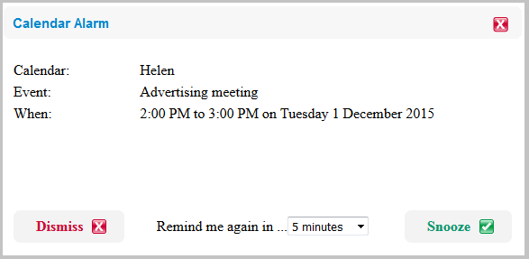 how to set an event reminder on messenger