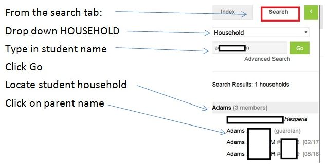 Image of Household search.