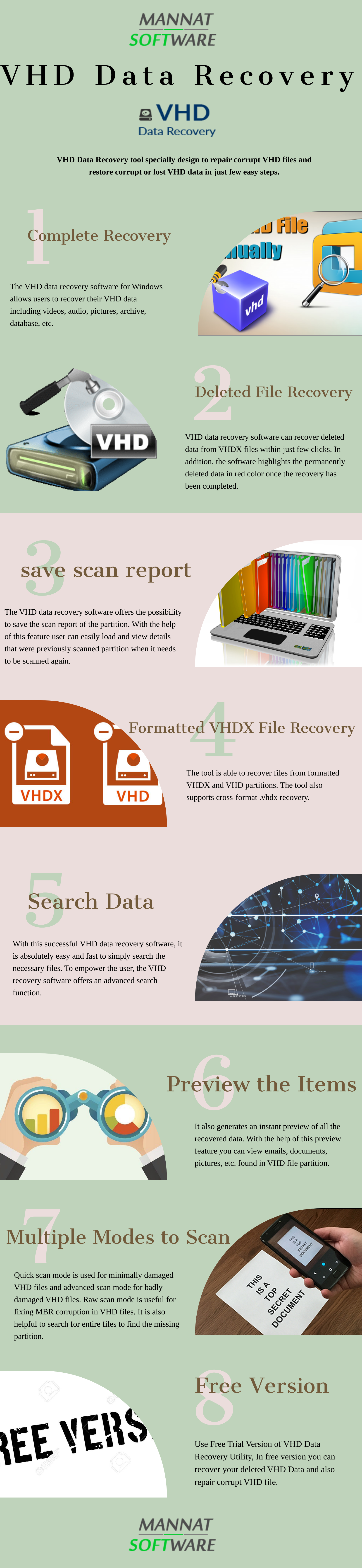 Recover Deleted Files from Virtual Hard Disk