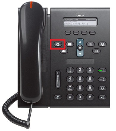 How to configure a VoIP line onto a Cisco CP-6921 IP Phone
